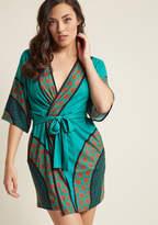 ModCloth Set the Serene Robe in 1X, 2X