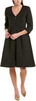 Badgley Mischka A-Line Dress
