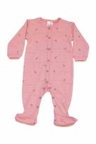 Petit Lem Pink Owl Sleeper