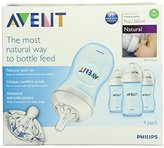 Philips 4 Pack Natural Polypropylene Bpa Free Bottles