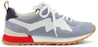 Mulberry MY-1 Lace-up Sneaker Pale Blue Suede