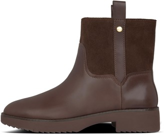 FitFlop Signey Mixte Leather Ankle Boots