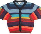 Paul Smith Striped Cotton & Cashmere Cardigan