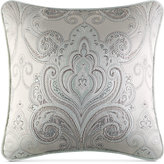"""J Queen New York Romance Spa Embroidered 18"""" Square Decorative Pillow"""