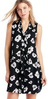 Sole Society Floating Flower Tie-Neck Dress