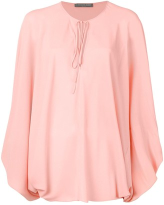 Alexander McQueen oversized blouse