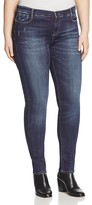 Marina Rinaldi Irene Super Stretch Skinny Jeans in Sky Blue