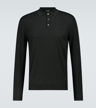 Zanone Long-sleeved polo shirt