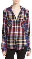L'Agence Plaid Flannel Shirt