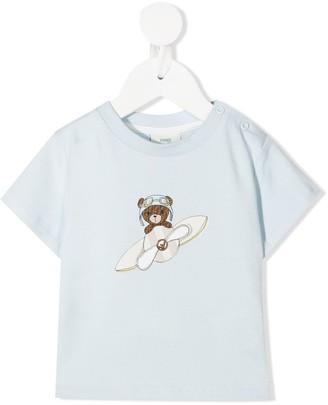 Fendi Kids teddy bear-print T-shirt