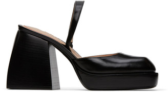 Nodaleto Black Bulla Jones Heels