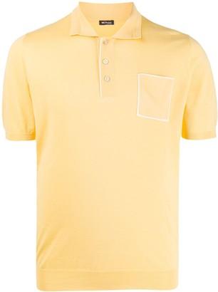 Kiton Chest Pocket Polo Shirt