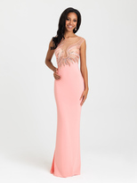 Madison James - 16-387 Dress in Coral