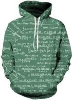 Uideazone Collage Cool Unicorn Graphic Hooded Sweatshirt Novelty Pocket Hoodie