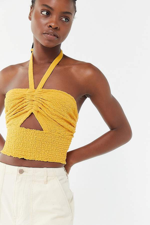 012ec5e693691e Mustard Crop Top - ShopStyle