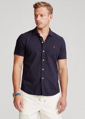 Ralph Lauren Classic Fit Polo-Collar Oxford