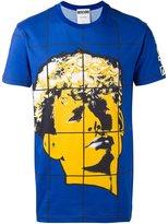Moschino face print T-shirt - men - Cotton - 46