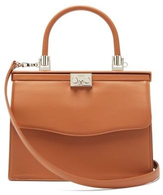 Rodo Paris Medium Leather Bag - Tan