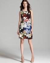 Rachel Roy Royal Flowers Drape Top Dress