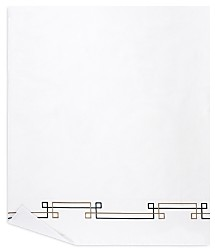 Yves Delorme Escale Flat Sheet, Full/Queen