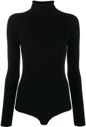 Twin-Set Twin Set backless turtle neck body
