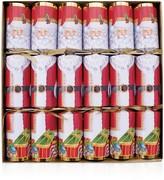Caspari Santa Crackers