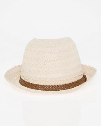 Le Château Lace Fedora Hat