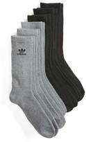 adidas Men's 6-Pack Original Trefoil Crew Socks