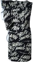Lanvin logo sleeveless dress