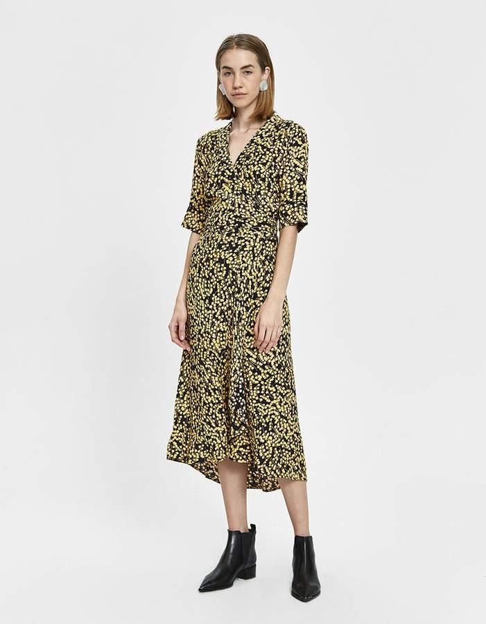 018f14721c189 Ganni Crepe Dresses - ShopStyle