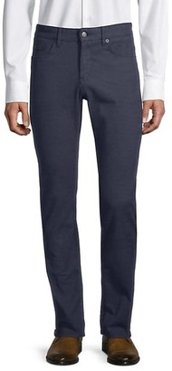 HUGO BOSS Delaware Slim Straight Stretch Twill Pants