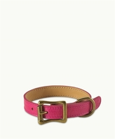 GiGi New York Petite Dog Collar Italian Leather