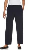 Croft & Barrow Petite Solid Pull-On Dress Pants