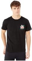 Salty Crew Petal Pusher Premium Short Sleeve Tee (Black) Men's T Shirt