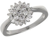 Lord & Taylor 0.50K Diamond and 14K White Gold Ring