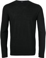 Jil Sander crew neck knitted sweater - men - Virgin Wool - 48