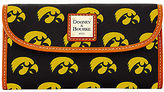 Dooney & Bourke NCAA Iowa Continental Clutch