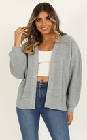 Showpo Found My Passion cardigan in grey - 8 (S) Cardigans