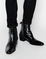 Jeffery West Leather Chelsea Boots