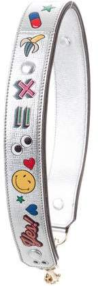 Anya Hindmarch 2018 All Over Sticker Shoulder Strap w/ Tags
