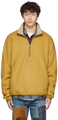 Remi Relief Yellow Fleece Half-Zip Sweater