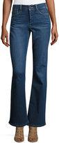 NYDJ Farrah High-Waist Boot-Cut Jeans, Blue