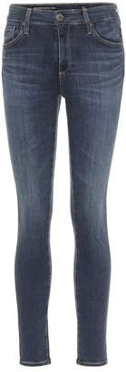 AG Jeans The Farrah high-rise skinny jeans