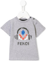 Fendi headphone print T-shirt