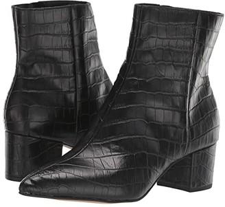 Dolce Vita Bel (Noir Croco Print Leather) Women's Shoes
