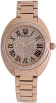 Croton Womens Rose Goldtone Bracelet Watch-Cn207564rgpv