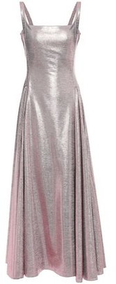 Emilia Wickstead Adettine Pleated Lame Gown