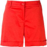 P.A.R.O.S.H. turn up shorts - women - Cotton/Spandex/Elastane - XS