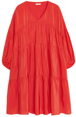 Arket Short Ruffled Dress