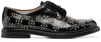 Comme des Garcons x Church's studded leather derby shoes